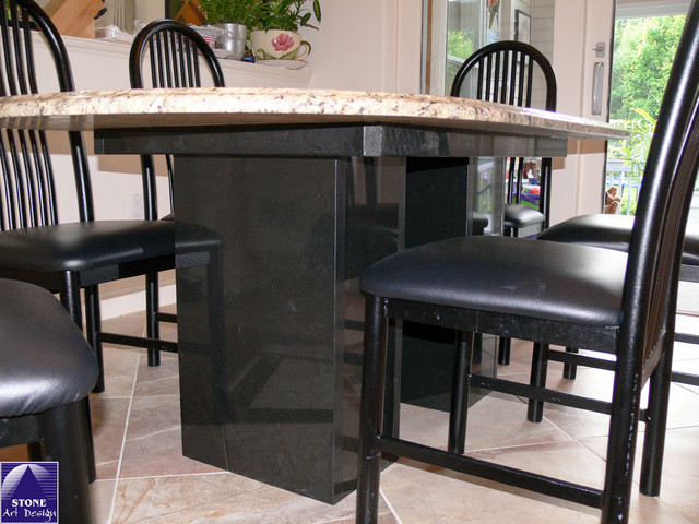 Tables and custom projects traditional-dining-room