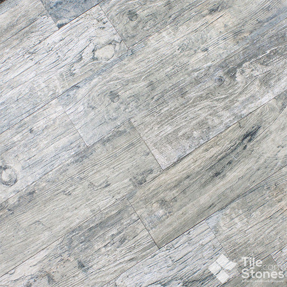 Magique Patina Gris Wood Plank Porcelain Tile Contemporary Wall And Floor Tile Other Metro