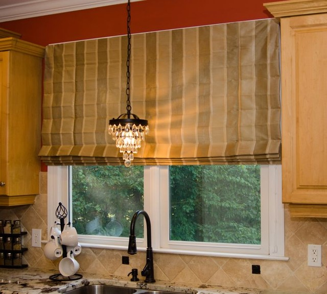 Roman Shades contemporary-roman-shades