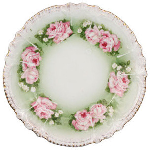 Vintage Small Plate traditional-serveware