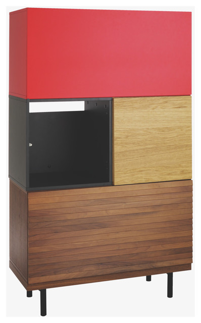 modern bookcases cabinets and computer armoires by Habitat