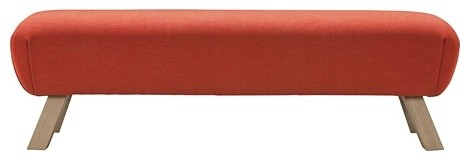 Pommel Ottoman | Freedom Furniture and Homewares contemporary-ottomans-and-cubes