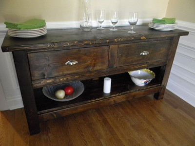 Custom Buffet eclectic-buffets-and-sideboards