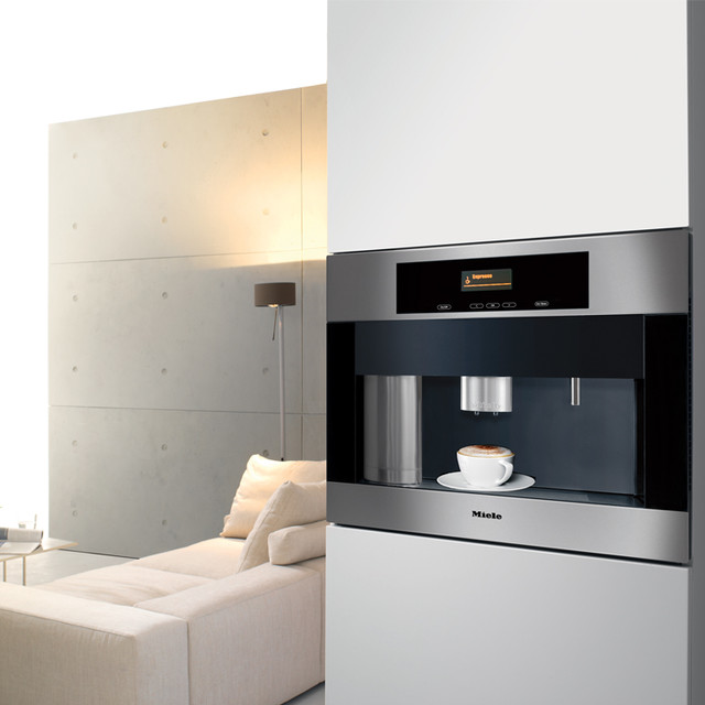 miele cva 4062 built in whole bean coffee system new york by miele appliance inc. Black Bedroom Furniture Sets. Home Design Ideas