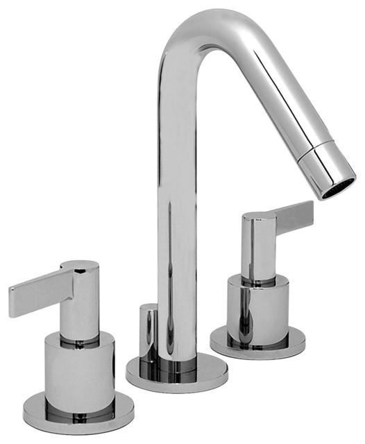 """Altmans DU10L4PC Dulce 8"""" Widespread Lav Polished Chrome modern-bathroom-faucets"""