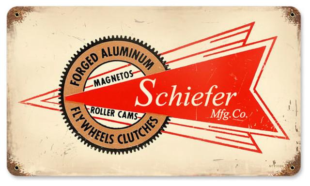 Schiefer Mfg Vintage Metal Sign modern-home-decor
