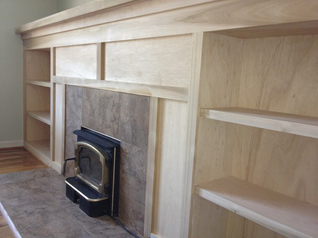 Dearborn Michigan Fireplace Remodel traditional