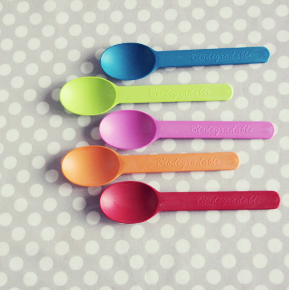 Biodegradable Plastic Spoons contemporary flatware