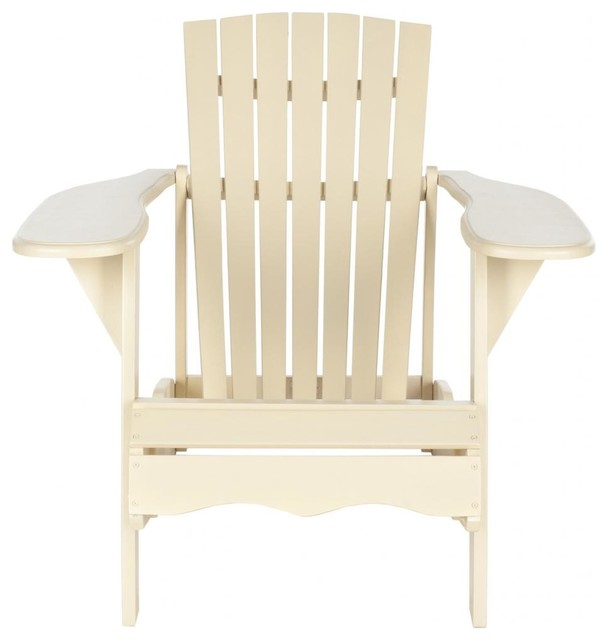 Mopani Chair f White beach style outdoor lounge chairs