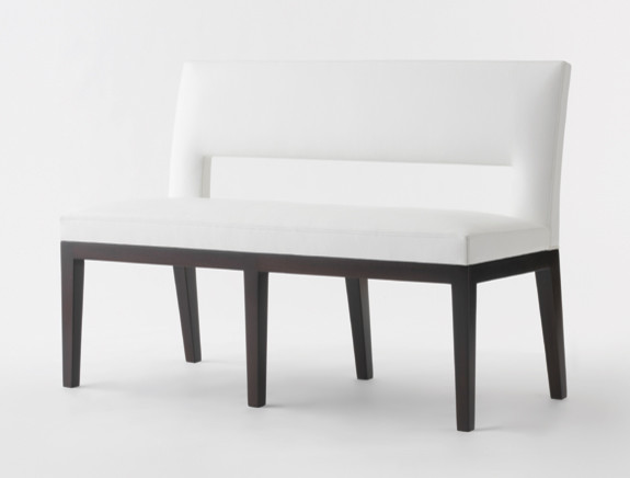 Velin Bench contemporary dining chairs and benches