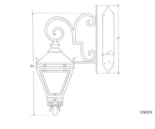 Exterior Lighting Designs traditional-details
