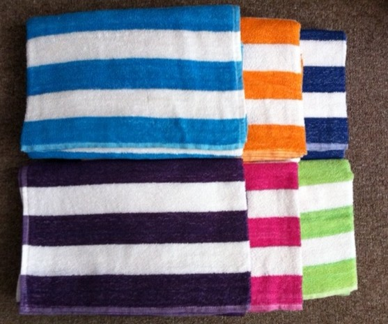 Cabana Stripe Beach Towels Modern Beach Towels By United Textile Supply