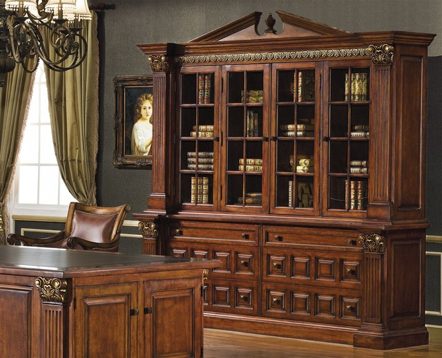 princeton book wall unit traditional decorative chests
