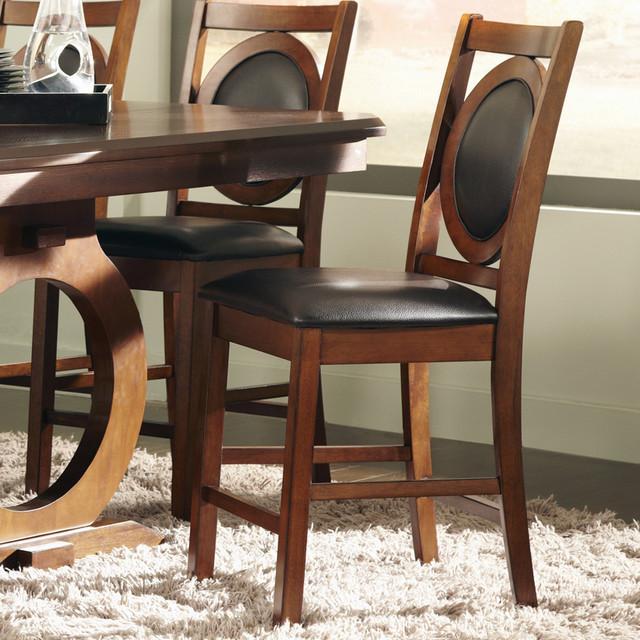 St John Counter Height Stool, Oak - Set of 2 modern-bar-stools-and-counter-stools