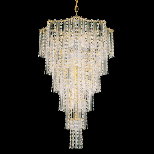 Schonbek swarovski lighting 2651 jubilee 17 light chandelier - Can light chandelier ...