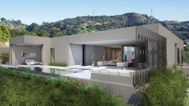 Doheny Estates contemporary-rendering