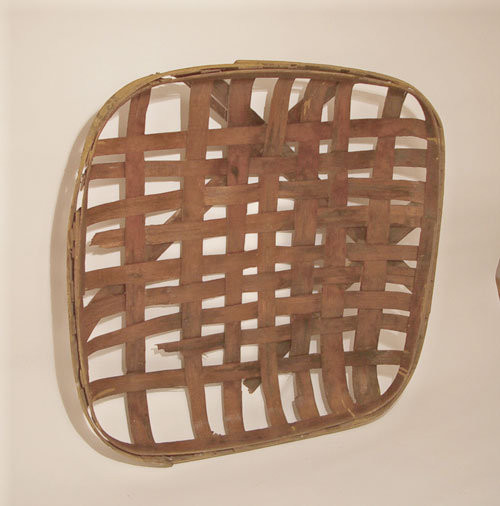 Primitive Tobacco Basket - Traditional - Baskets - by Kelly Donovan