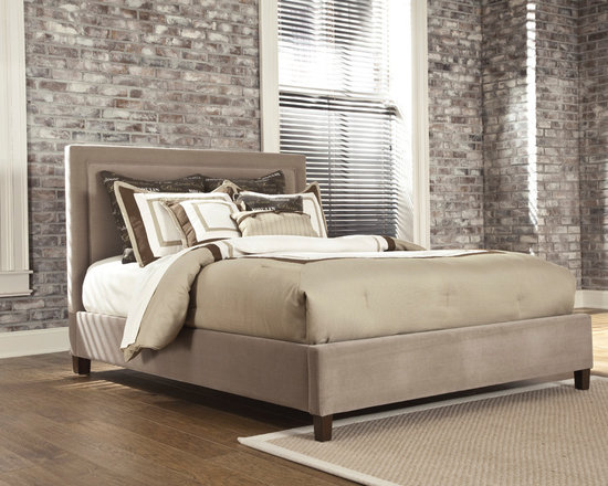 Bedrooms Furniture - Contemporary Master Bedroom Set