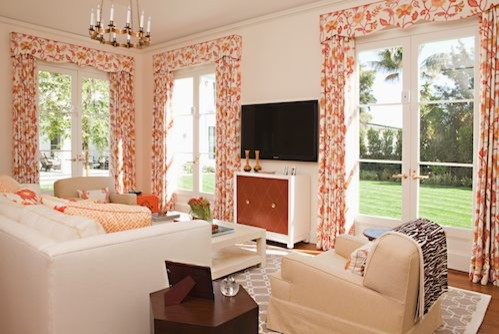 Beverly Hills transitional-family-room