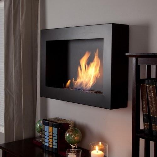Anywhere Fireplace Soho Black Satin Anywhere Indoor