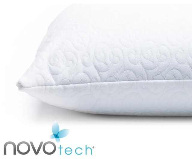 Memory Foam Gel Pillow From Modern Home : NOVOtech Coolmax Gel Infused Memory Foam Pillow - High Profile - Contemporary - vancouver - by ...