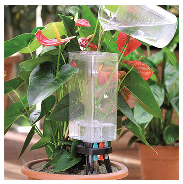 automatic self watering system for plants traditional indoor pots and planters by frontgate. Black Bedroom Furniture Sets. Home Design Ideas