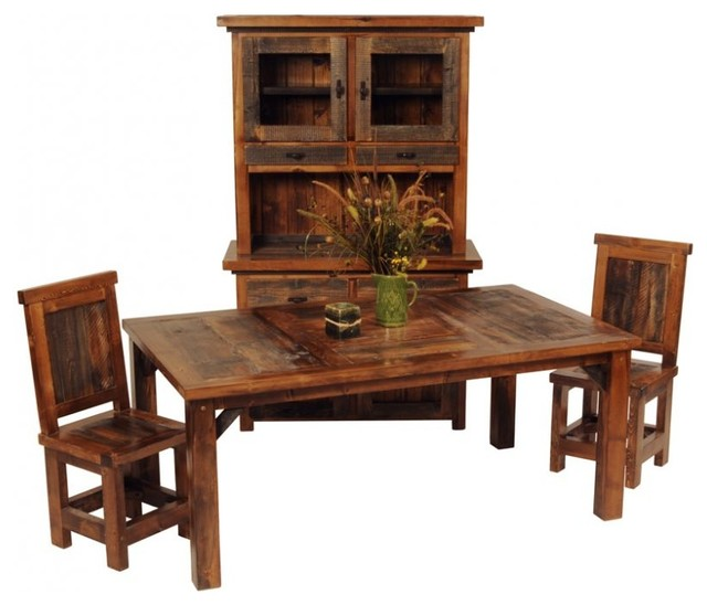 Wood Dining Table Rustic Barnwood Farm Table Rustic Dining Tables