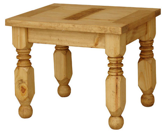 Rustic Pine Furniture ~ End Table -