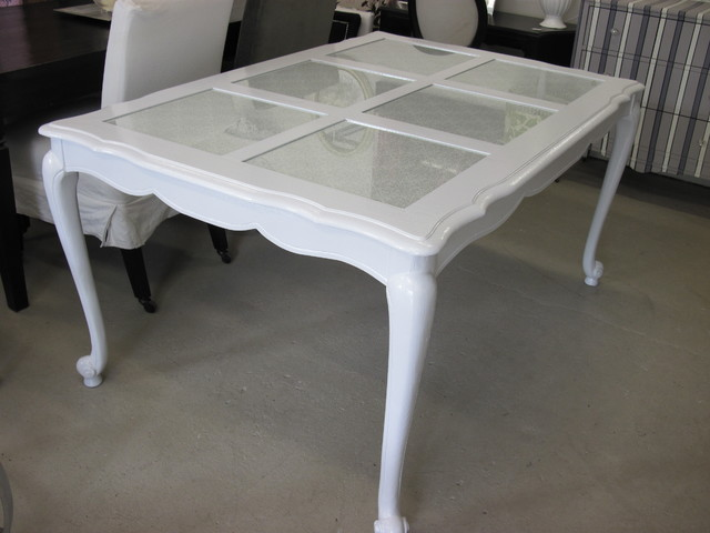 Gloss White French Provincial Dining Table : dining tables from www.houzz.com size 640 x 480 jpeg 56kB