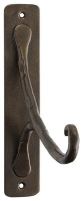 Hammered Wall Lantern Hook Traditional Outdoor Wall