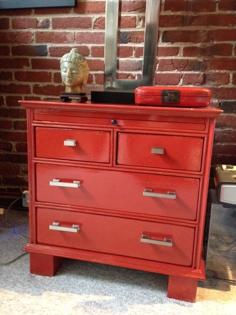 Chest of drawers makeover eclectic side tables and end Eclectic coffee table makeovers