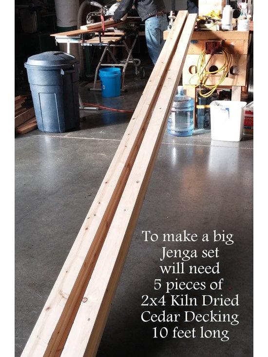 How to Build a Giant Jenga Set -
