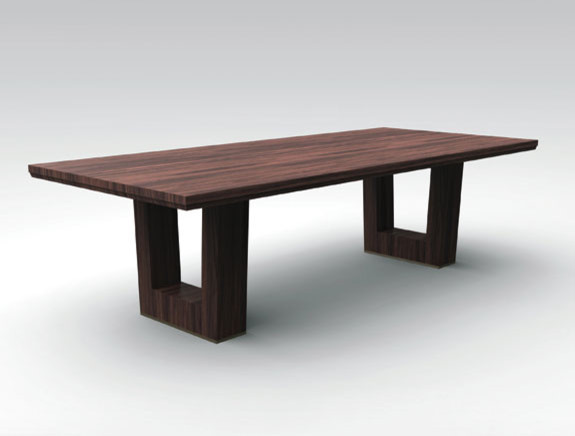 Bristol Dining Table contemporary dining tables