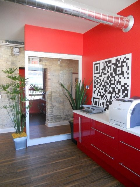 Office Renovation contemporary-entry