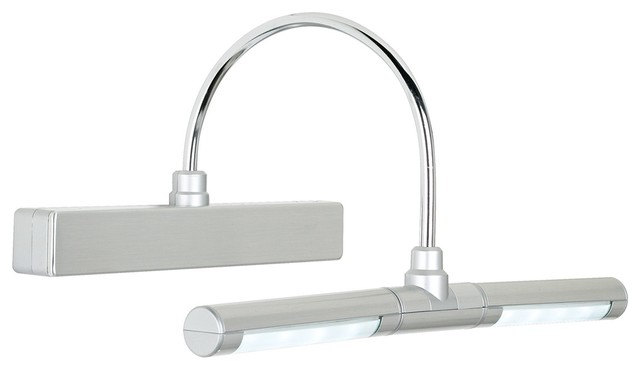 Contemporary Led Vanity Lights : Eight LED Battery Powered 13