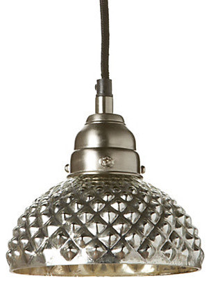 Textured Dome Pendant eclectic pendant lighting