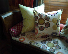 Eclectic custom cushions and pillows eclectic fabric