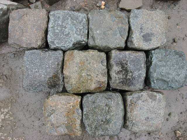 Historic European Cobblestone - Granite Collection traditional-outdoor-products
