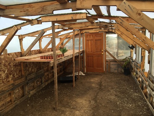 12 39 x24 39 greenhouse made out of pallets for What is a greenhouse made out of