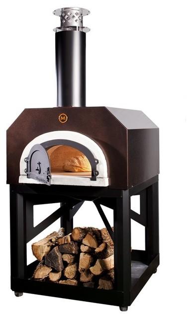 Chicago Brick Oven 500 Mobile Pizza Oven - CBO-500 MOBILE COPPER contemporary-outdoor-products