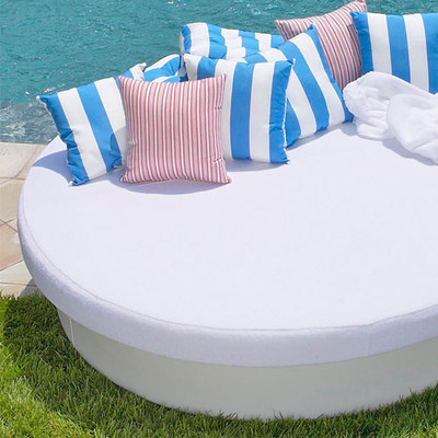 La-Fete Terry Cloth Cover for Sun Pad - - outdoor sofas - los ...