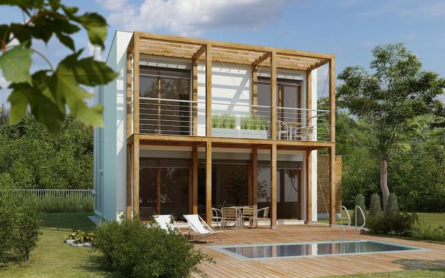 Exterior Photorealistic Renderings modern