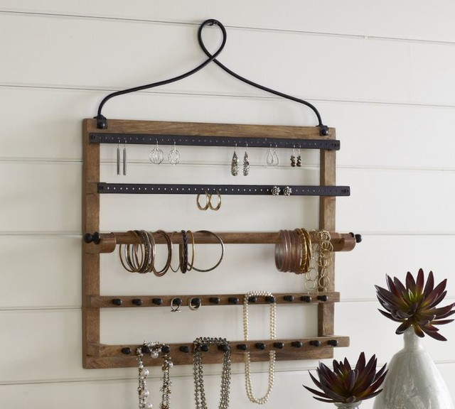 Wall-mount Jewelry Hanger - Contemporary - Jewelry Boxes And Organizers - sacramento - by ...