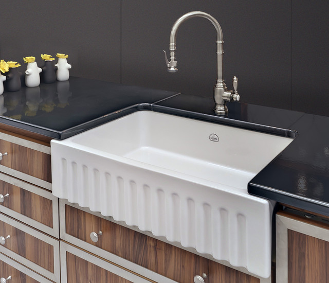 fireclay kitchen sinks