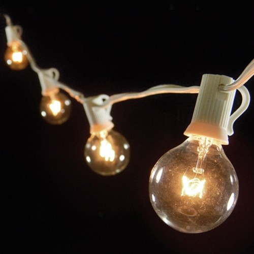 Globe String Lights, Indoor/Outdoor, Clear modern-holiday-lighting