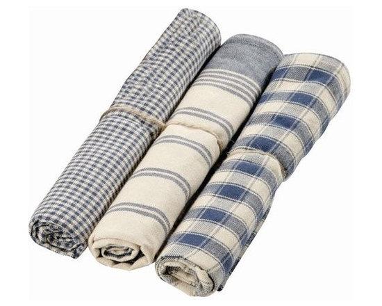 La Campagne Kitchen Towels – Set of Three -