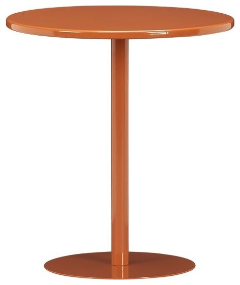 Pedestal Cayenne Side Table Modern Outdoor Side Tables