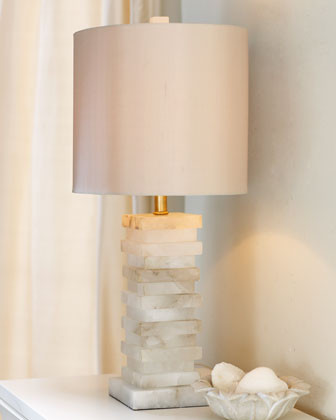 John-Richard Collection Stacked Stone Lamp traditional table lamps