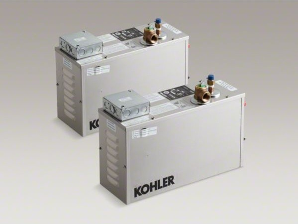 KOHLER 22 kW Fast-Response(R) steam generator contemporary-bathroom-accessories
