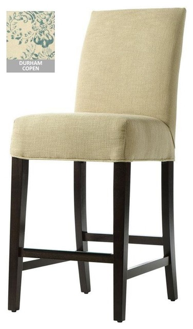Custom Roll-Back Counter Stool traditional-bar-stools-and-counter-stools
